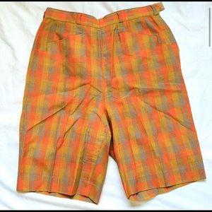 Rare vintage checkered shorts